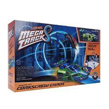Car Toy Lionel Mega Tracks Corkscrew Chaos Green Engine Building Track Play Set