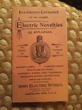 New ListingAntique vintage Electronics Catalog Ohio Electric Works 1800s Cleveland coooL
