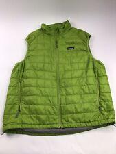 Patagonia Down Vest size XXL Green Mens