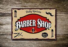 Barber Shop Sign, Metal Sign, Barber Shop Signs, Vintage Style, Barber Shop, 466