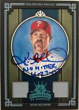 Kevin Millwood Autographed 2008 Donruss Diamond Kings Jersey Relic 1/1