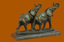 Close Out Massive Wildlife elephant by Bugatti Bronze Hot Cast Sculpture Statue