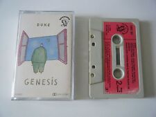GENESIS DUKE CASSETTE TAPE 1980 RED PAPER LABEL CHARISMA UK