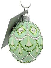 New ListingPatricia Breen Petit Egg Cordelia Green Jeweled Spring Easter Egg