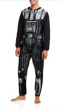 STAR WARS DARTH VADER NON FOOTED PAJAMAS COSTUME UNION SUIT NWT L LAST ONE