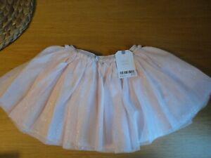 Next Baby Girls Sparkly Pink Tutu Skirt 6 9 12 Months BNWT FREEPOST