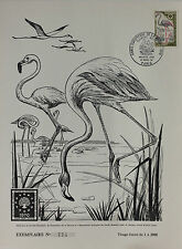 DOCUMENT PREMIER JOUR - 27 x 21 cm - 1970 - LE FLAMANT ROSE - N° 714