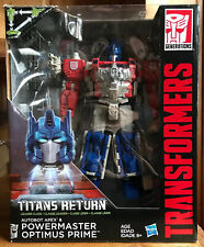 Transformers Titans Return Leader Class Powermaster Optimus Prime 100% Complete