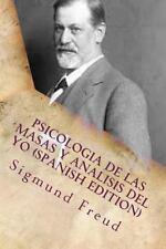 Psicologia de Las Masas y Analisis Del Yo by Sigmund Freud (2016, Paperback)