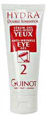 Guinot Hydradermie Anti Wrinkle Eye Gel 75ml(2.6oz) Double Ionisation Prof Fresh
