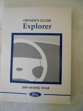 ford explorer 2000 owners manual pdf