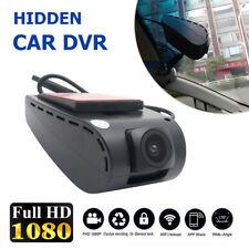 1080P Auto DVR versteckte Dash Cam Dual-Objektiv Kamera G-Sensor Video Recorder