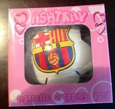 Football Club  FC Barcelona ashtray La Liga Soccer * Rare *