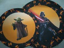 Set 2 platos especial Halloween Star Wars
