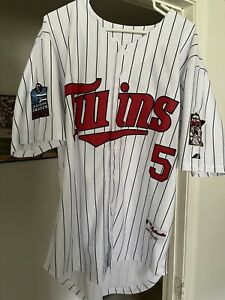 NWT Vintage authentic Michael Cuddyer Minnesota Twins home jersey Inaugural