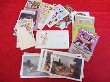 47 schöne Postkarten + 11 Motivbriefe , 21x Sternzeichen ,Glückwunschkarten....