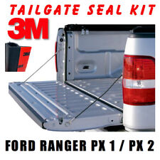 TAILGATE SEAL KIT FOR FORD RANGER PX1 PX2 UTE RUBBER DUST TAIL GATE