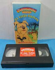 VHS VINTAGE ORIGINAL VIDEOCUENTOS - EL VIEJO SULTAN - INFANTILES