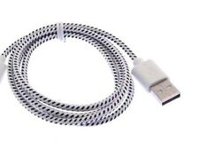 Round Braided USB data Charger Cable for iphone X 8 7 plus 6 4s 5 micro galaxy