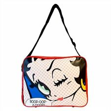 NEW BETTY BOOP POP ART SPORTS MESSENGER GYM SCHOOL BAG RETRO HER SPOTTY