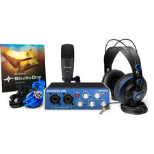 Presonus AudioBox Studio USB Interface Pro Microphone & Headphone Recording Kit