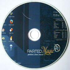 Parted Magic Partition Manager on CD Clone Resize partitions