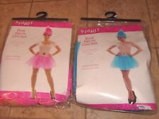 2 PINK & BLUE GNOME ELF PIXIE Women's Halloween Costume Set NEW ONE SZ FITS MOST