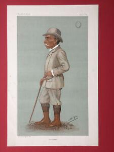 Original 1896 Vanity Fair Print of Mr Alfred Austin - The Poet Laureate