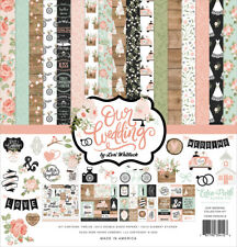 """New Carta Bella  12"""" x 12"""" Paper Collection KIt  Our Wedding"""