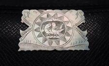Contador De Juegos Madre de Perla Antiguo/hilo de Coser Enrollador #A