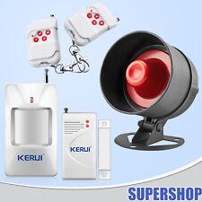 Wireless 433MHz Office Store Indoor Outdoor Alarm Siren Burglar Security System