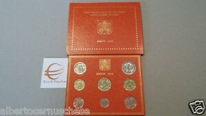 2016 8 monete fdc 3,88 EURO VATICANO Vatican Vatikan Papa Francesco Ватикан