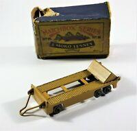 Vintage Matchbox Moko Lesney No. 16 Super Atlantic Trailer Tan in Original Box