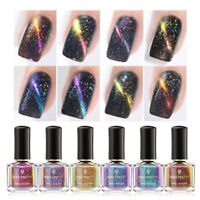 BORN PRETTY 8 Bottles Holographische Chameleon Nagellack Kit Magnetische Varnish