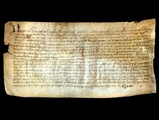 MEDIEVAL PARCHMENT IN LATIN 1399