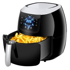 6.5Qt Air Fryer Home Kitchen Healthy Oil-less Appliances Touch Screen W/ Recipe