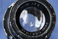 Gelar 1:2,8 / 15 cm R.&V. Berlin Rare Lens,Unknown lens