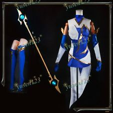 League Of Legends elementalist LUX THUNDER LUX Costume Cosplay Vestito BACCHETTA Prop