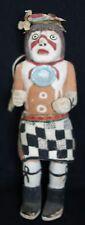 Rare Antique Hopi Indian Woe (Clown) Doll Kachina/ Katsina