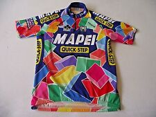 SMS SANTINI MAPEI QUICK-STEP COLNAGO  ITALIAN CYCLING JERSEY size size 50 / XL