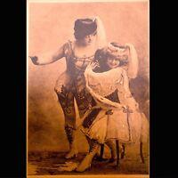 Art Deco 1920s Arcade Exhibit Card Antique French Lithograph Paris Theatre VTG
