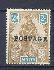 Mint Hinged George V (1910-1936) Maltese Stamps