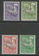 FRANCE SG1470/3 1960 PRECANCELS NEW CURRENCY MNH