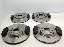 MAZDA RX8 FRONT & REAR BRAKE DISCS AND BRAKE PADS 2003-2011