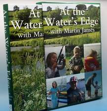 Martin James at the water's edge fishing book signed Ltd Edition in slip case