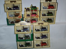 15pc LLEDO/DAYS GONE DG31 HORSE DRAWN BREWERS DRAY