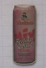 SCHULTHEISS / BERLINER WEISSE / HIMBEERE / BERLIN........... Bier Pin (119h)