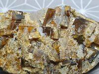 Top! Radiobaryt Strahlbaryt schöne Stufe 90 x 47 x 19 mm Mineralien Minerals
