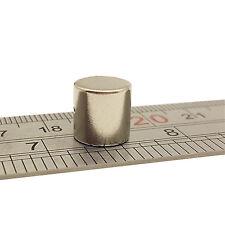 5pcs 10mm x 10mm Molto Forte Al Neodimio Disco CIRCOLARE ROTONDA Ndfeb Magneti