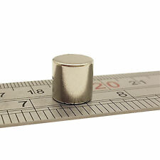 5 un. 10mm X 10mm Muy Fuerte Imanes De Neodimio Circular Disco Redondo NdFeB